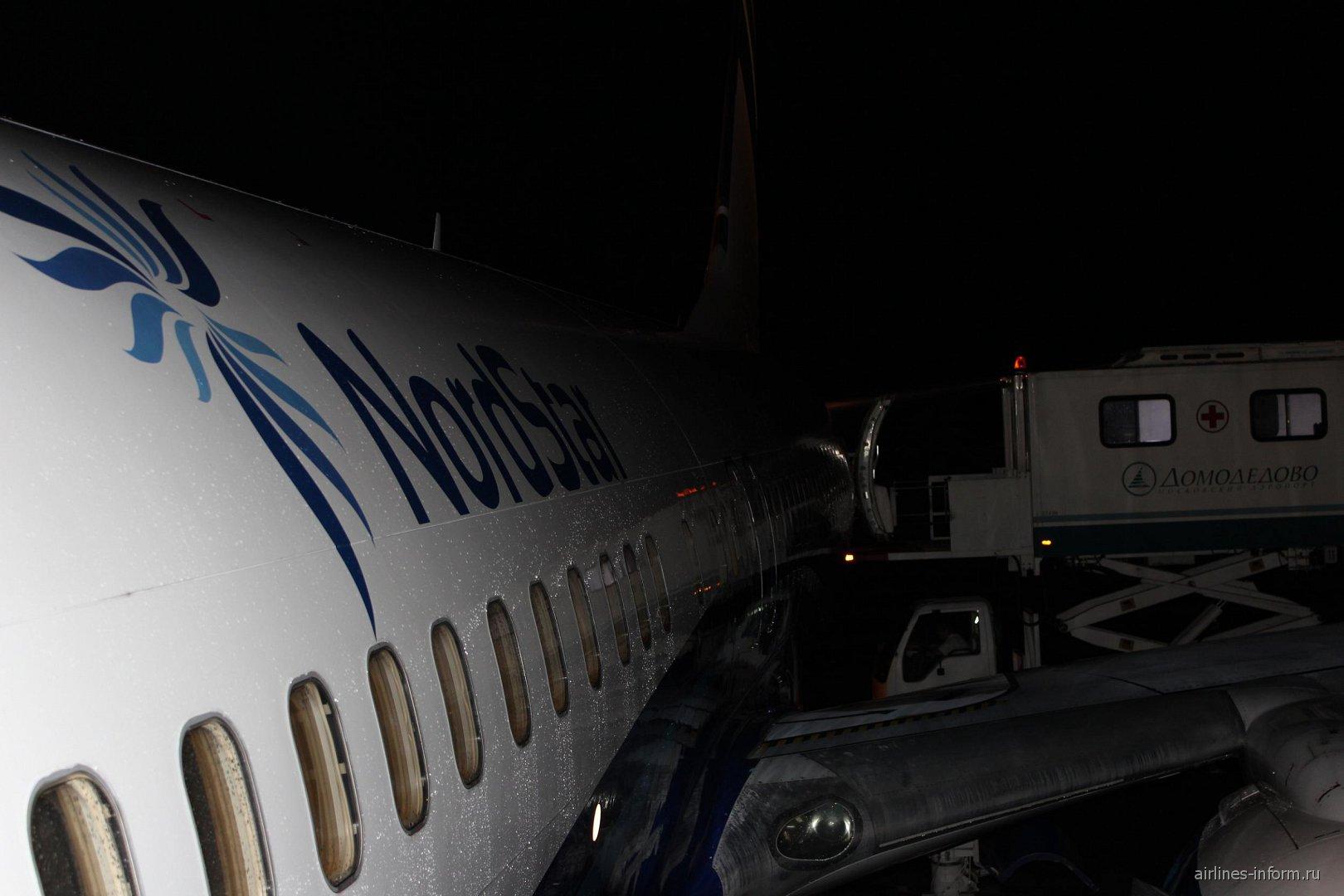 Боинг-737-800 авиакомпании NordStar