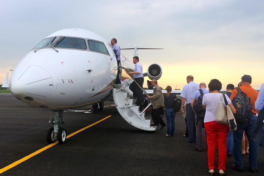 Bombardier CRJ100 авиакомпании РусЛайн