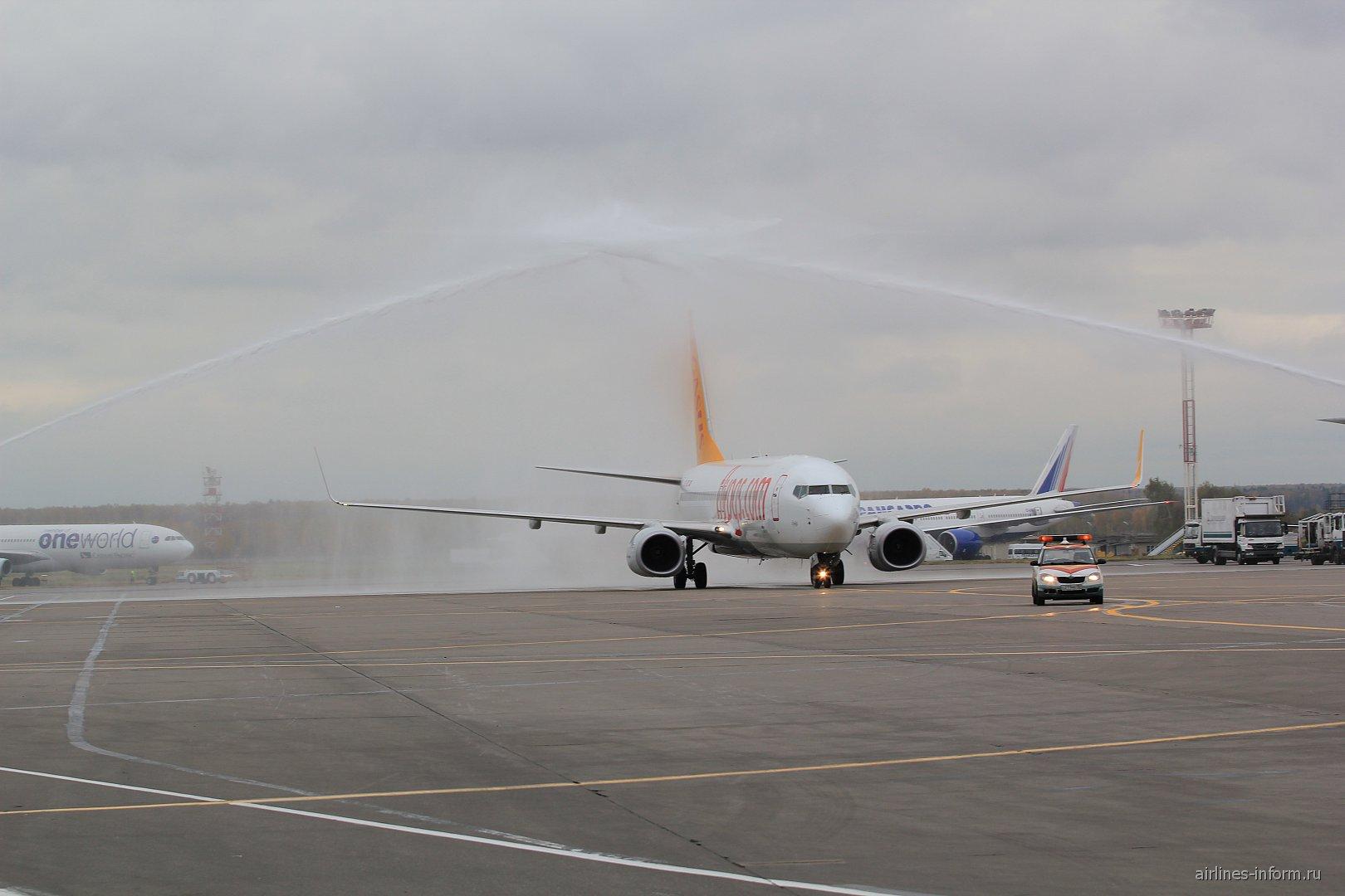 Первый рейс авиакомпании Pegasus Airlines в аэропорт Москва Домодедово