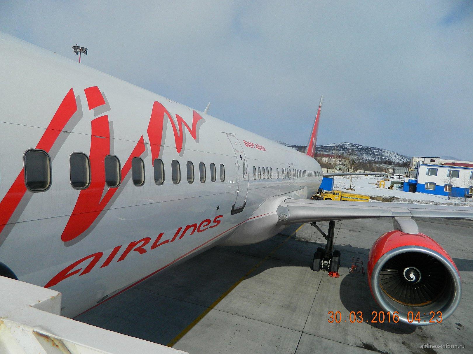 ВИМ-авиа. Магадан - Москва. Боинг 757-200