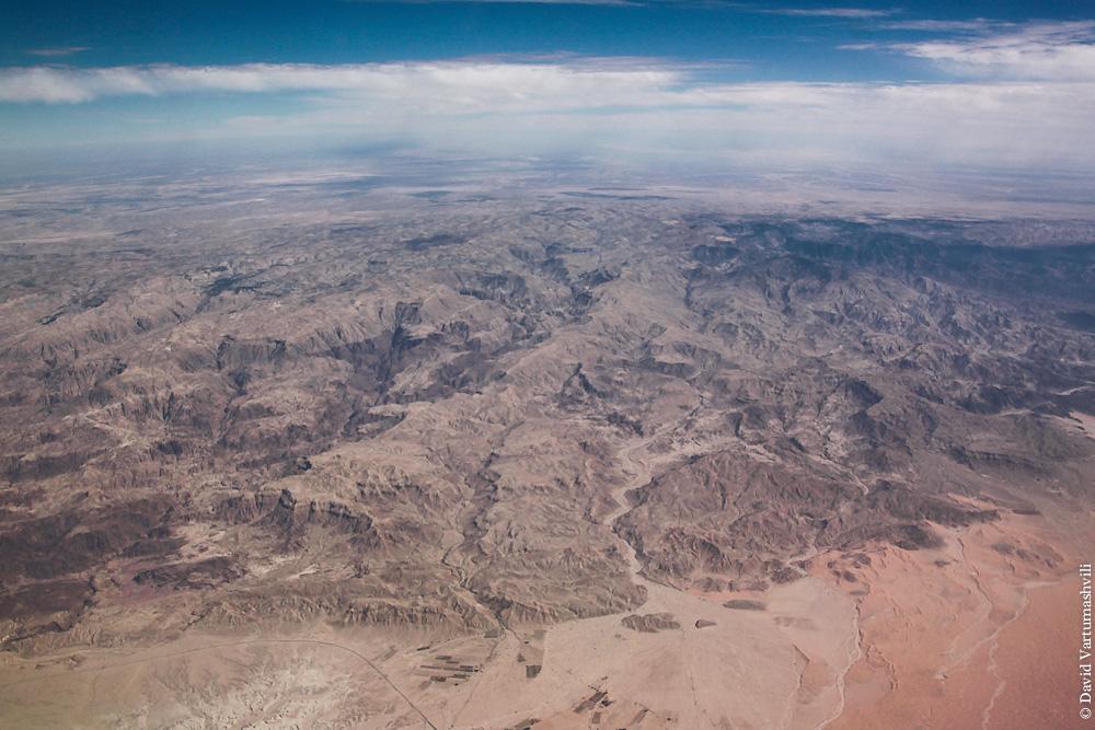 Горы в Иордании - восточная граница Иорданской рифтовой долины