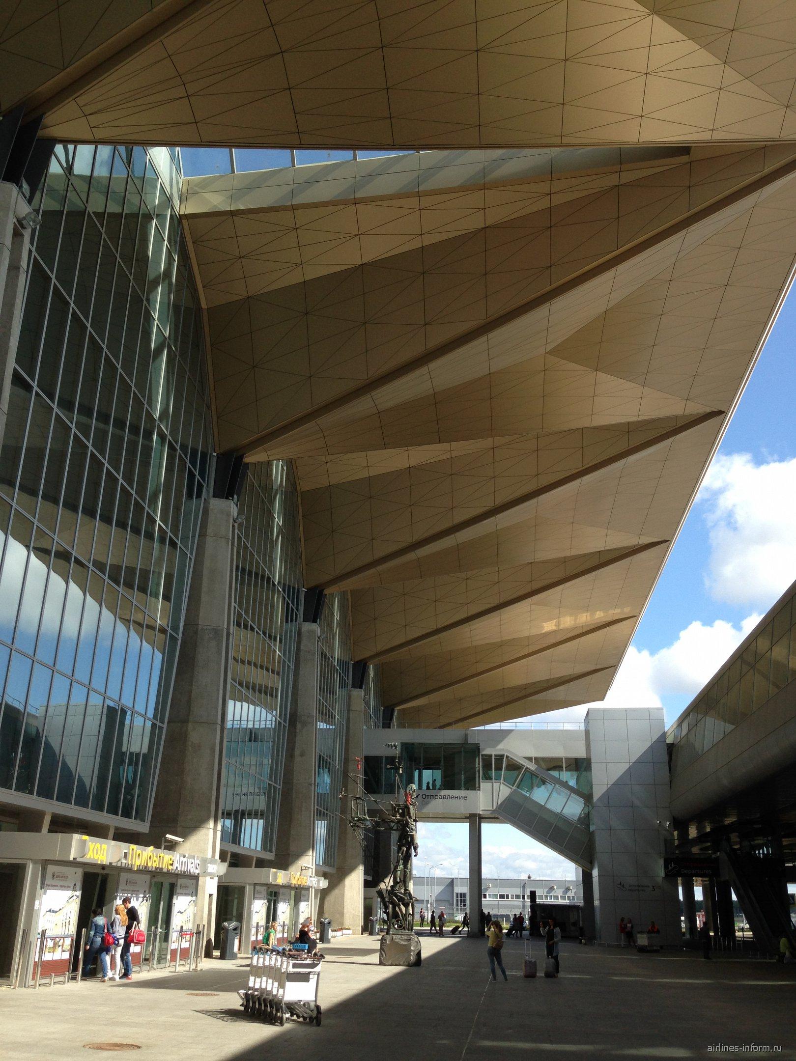 Новый пассажирский терминал аэропорта Санкт-Петербург Пулково