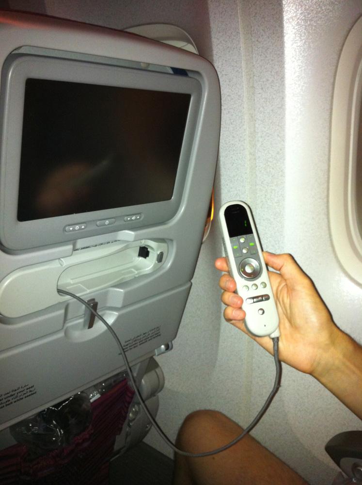 Бортовая система развлечений авиакомпании Qatar Airways