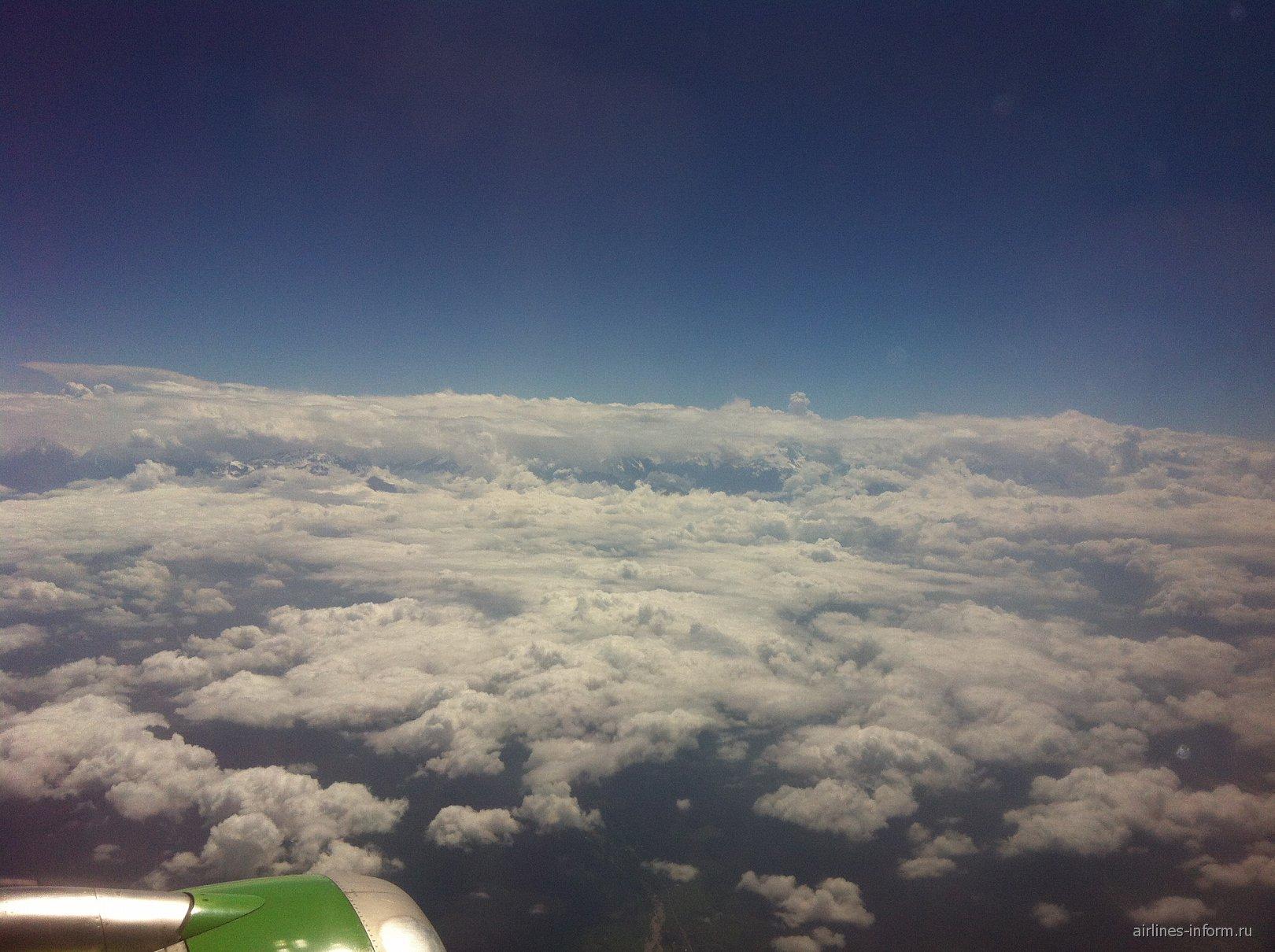 Рейс Владикавказ-Москва авиакомпании S7 Airlines
