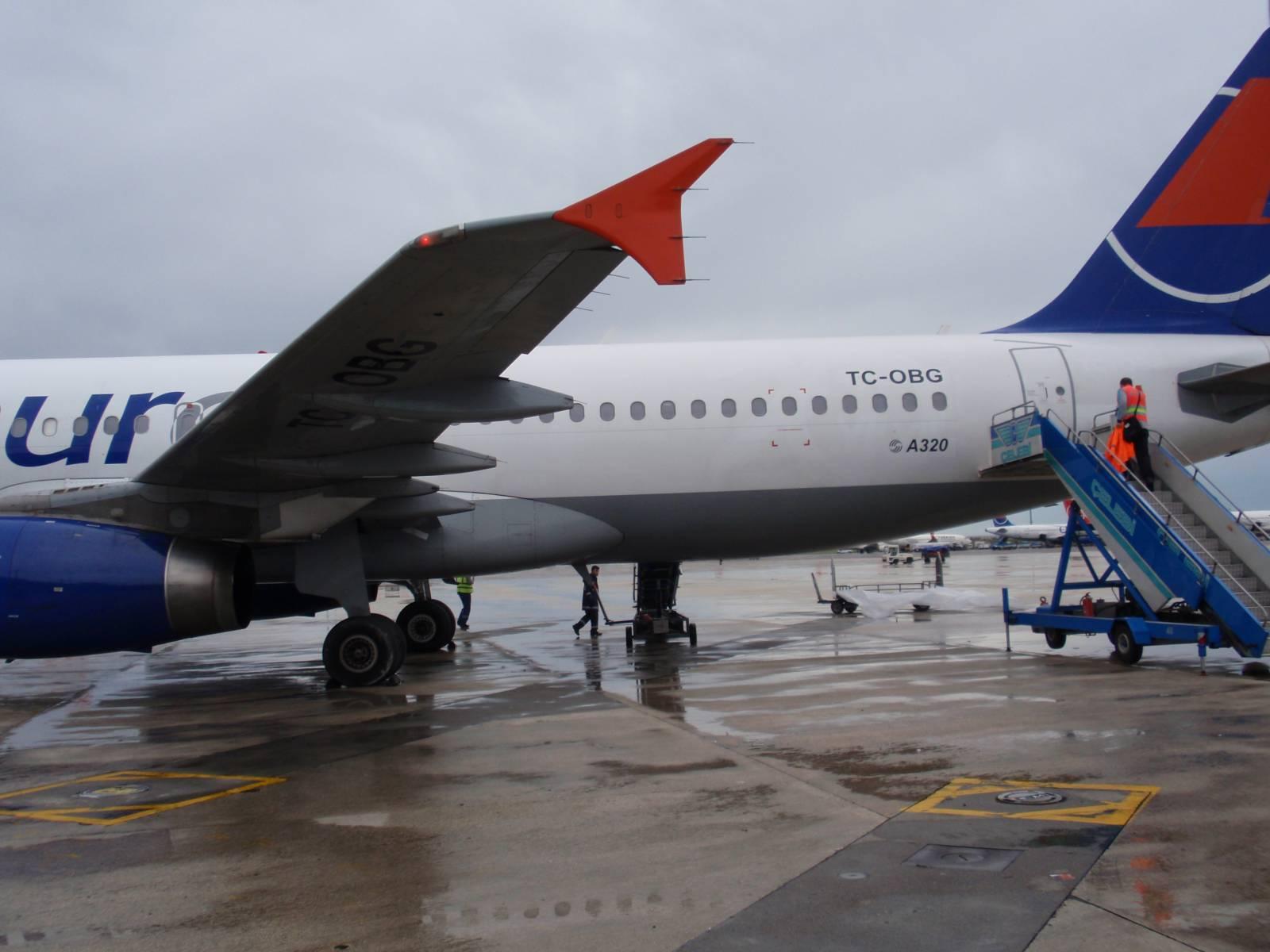Airbus A320 авиакомпании Onur Air
