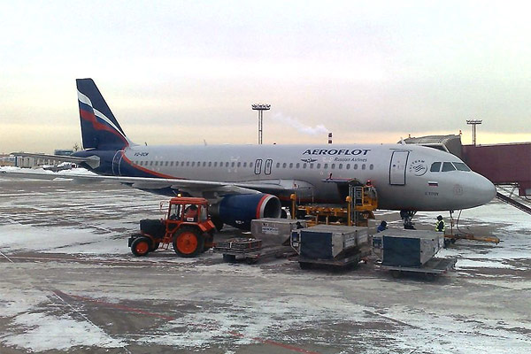 Sincerely Yours.  Moscow to Rome by C-class of Aeroflot.