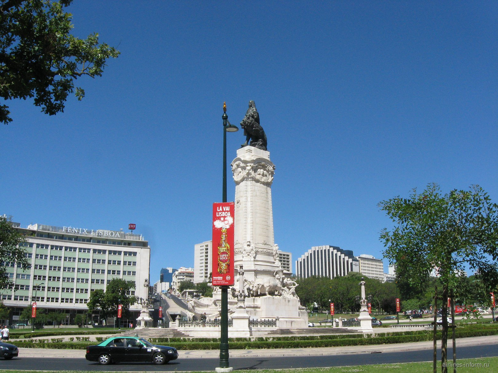 Площадь Маркиза де Помбала