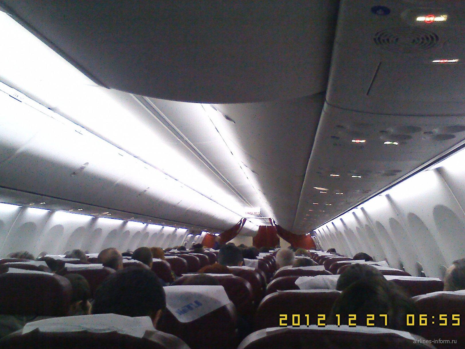 Салон Б-737-800