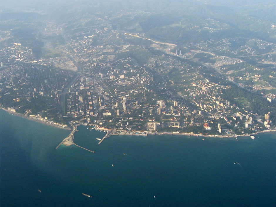 View of Sochi