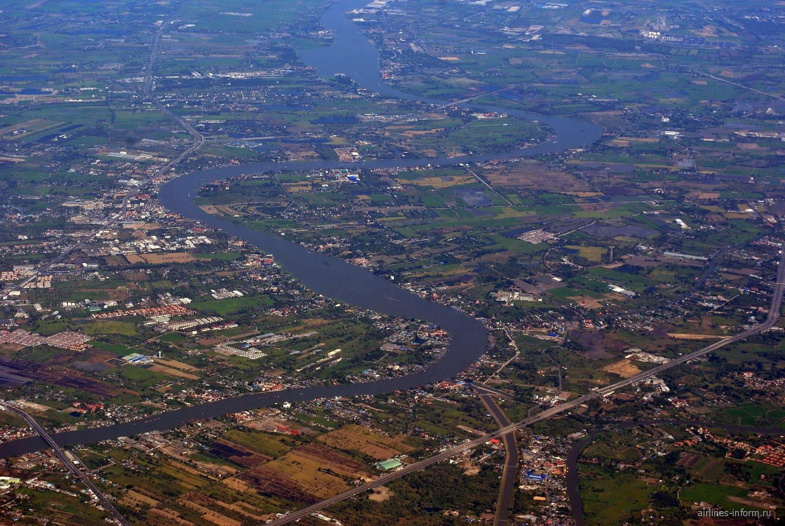 Река Чаопрайя в Таиланде