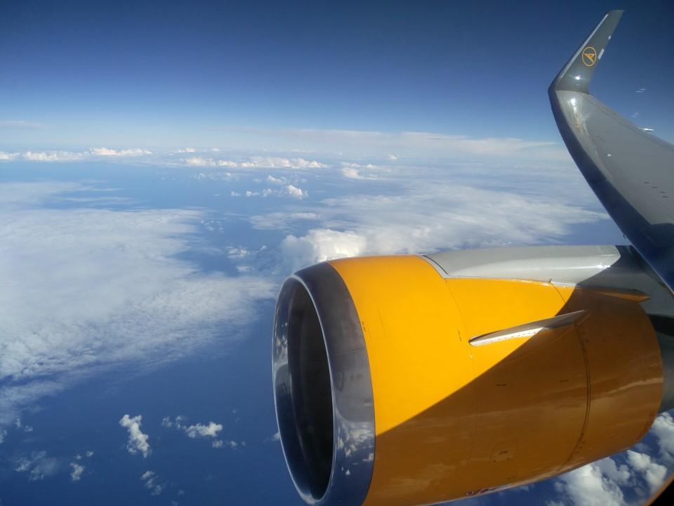 Рейс Рио-де-Жанейро-Франкфурт на Боинге-767-300 авиакомпании Condor