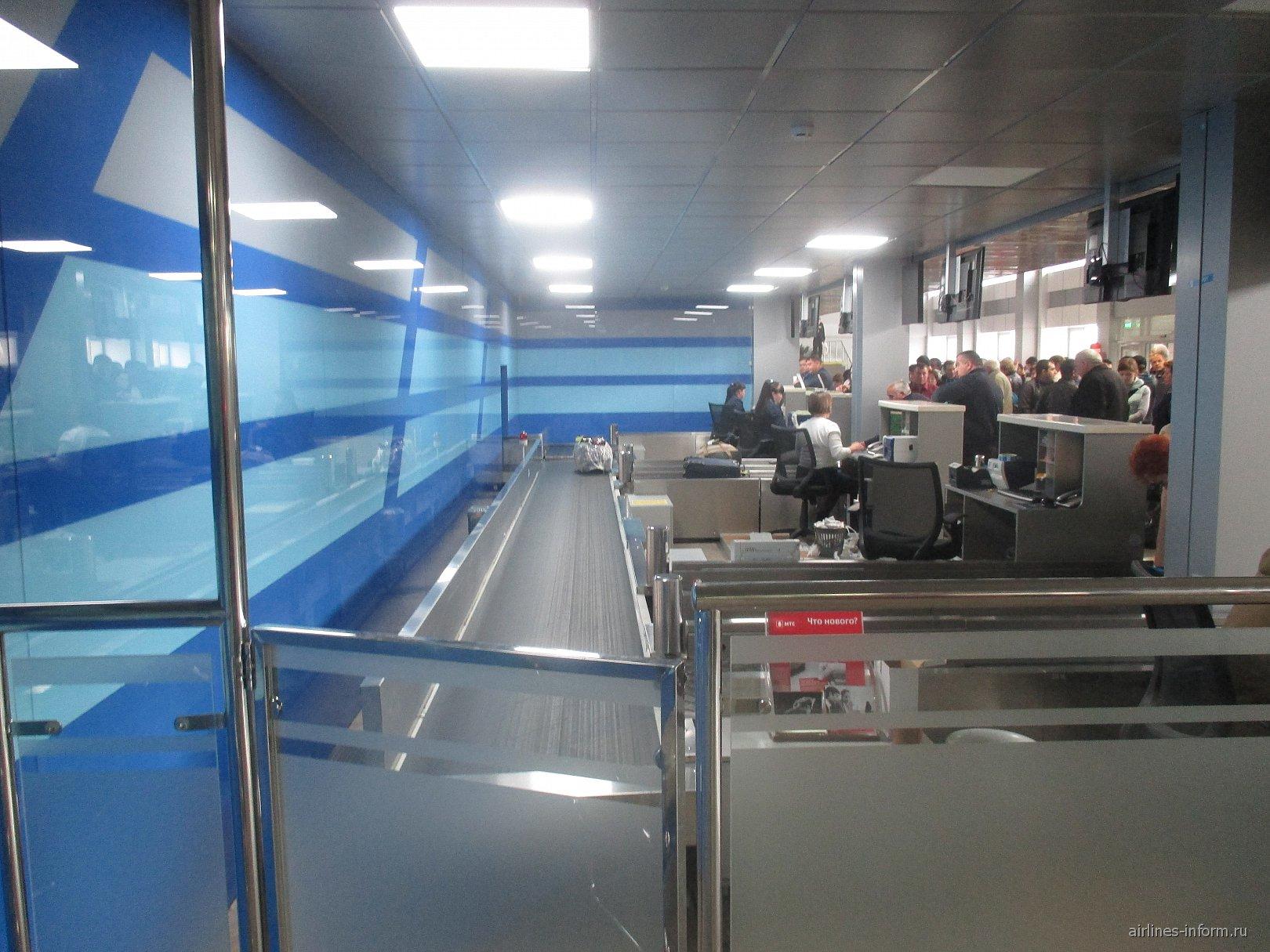 Внутри аэровокзала аэропорта Чита Кадала