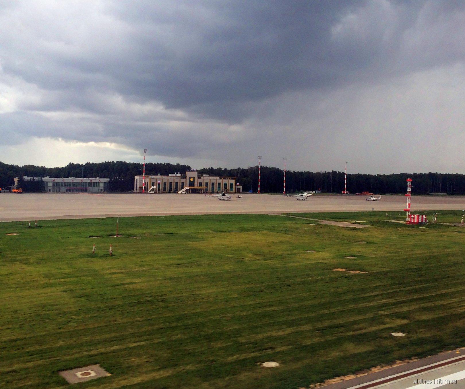 Правительственный терминал с перроном в аэропорту Москва Внуково