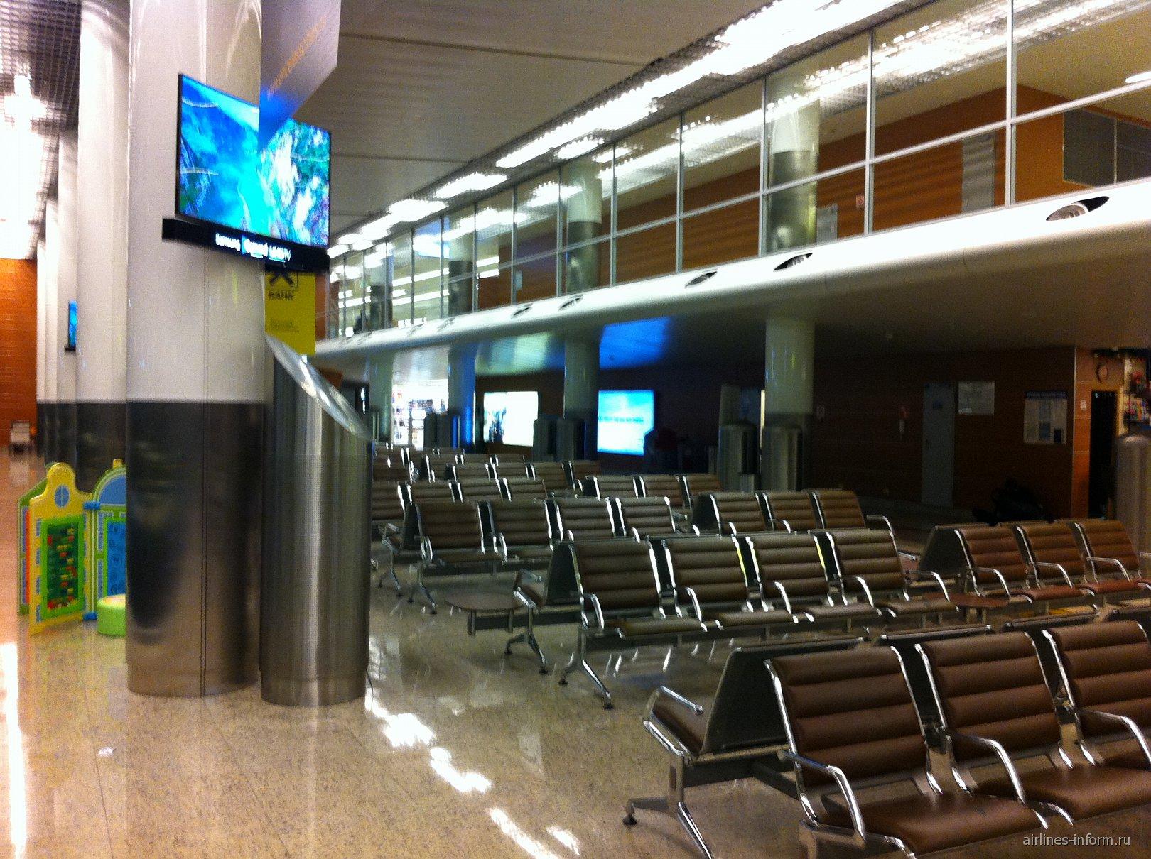 Чистая зона терминала D