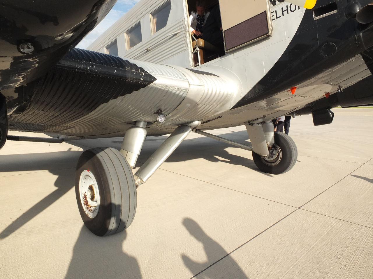 Шасси самолета Юнкерс Ю-52 авиакомпании Люфтганза