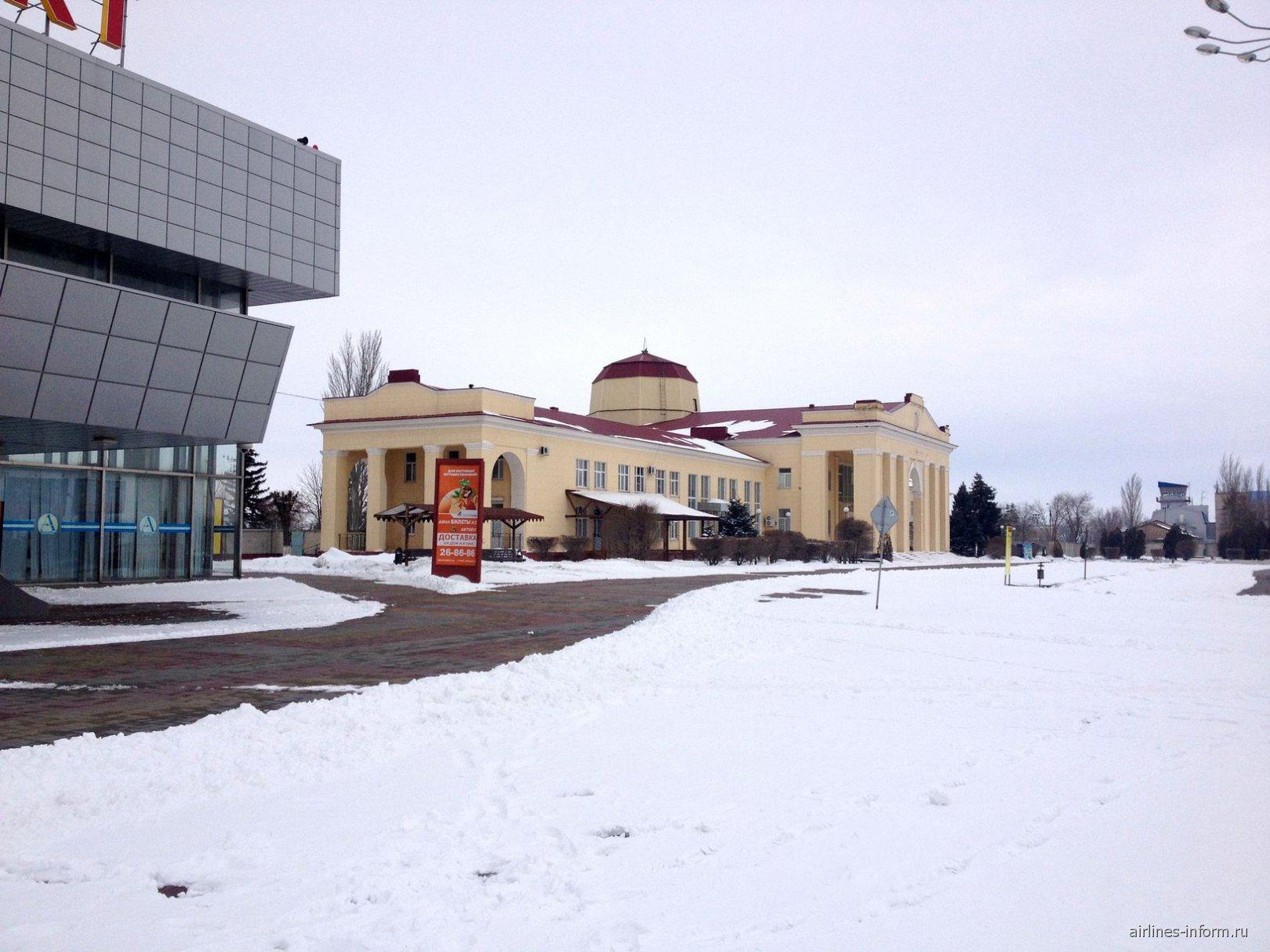 Терминал международных рейсов аэропорта Волгоград Гумрак