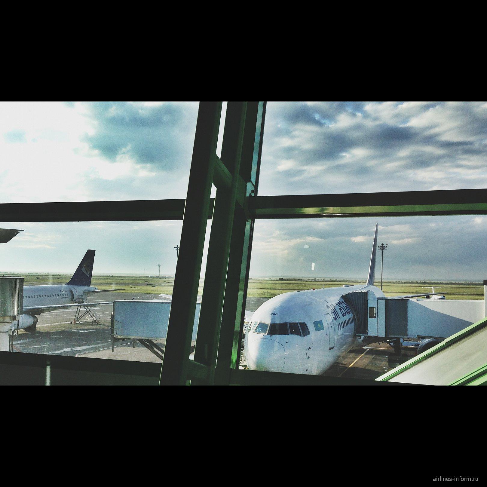 В аэропорту Астаны