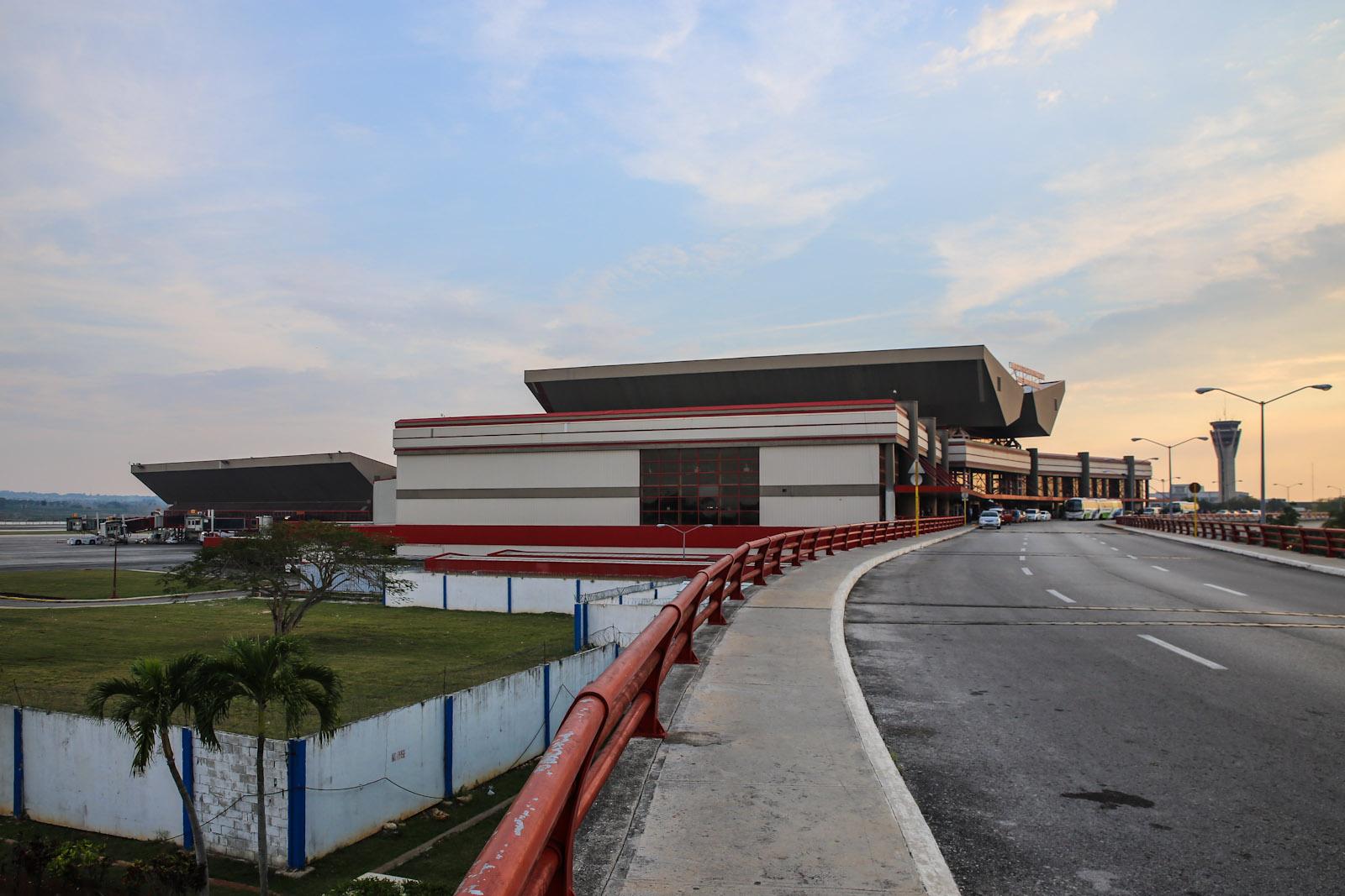 Международный терминал 3 аэропорта Гавана Хосе Марти