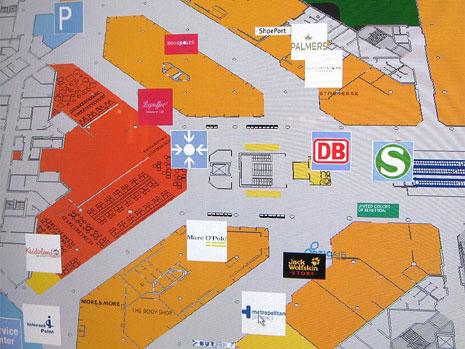 Схема аэропорта Мюнхен