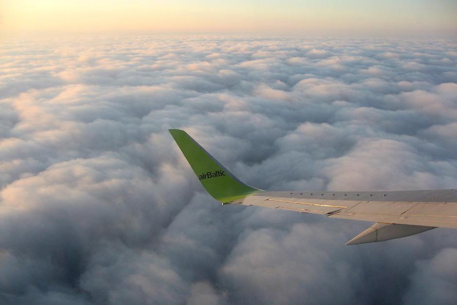 В полете с airBaltic
