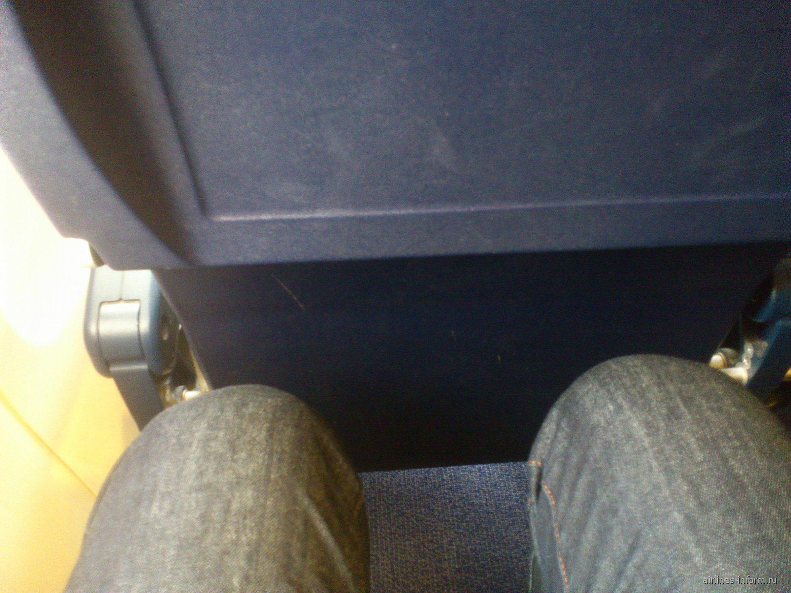 В самолете Боинг-737-800 авиакомпании Ryanair