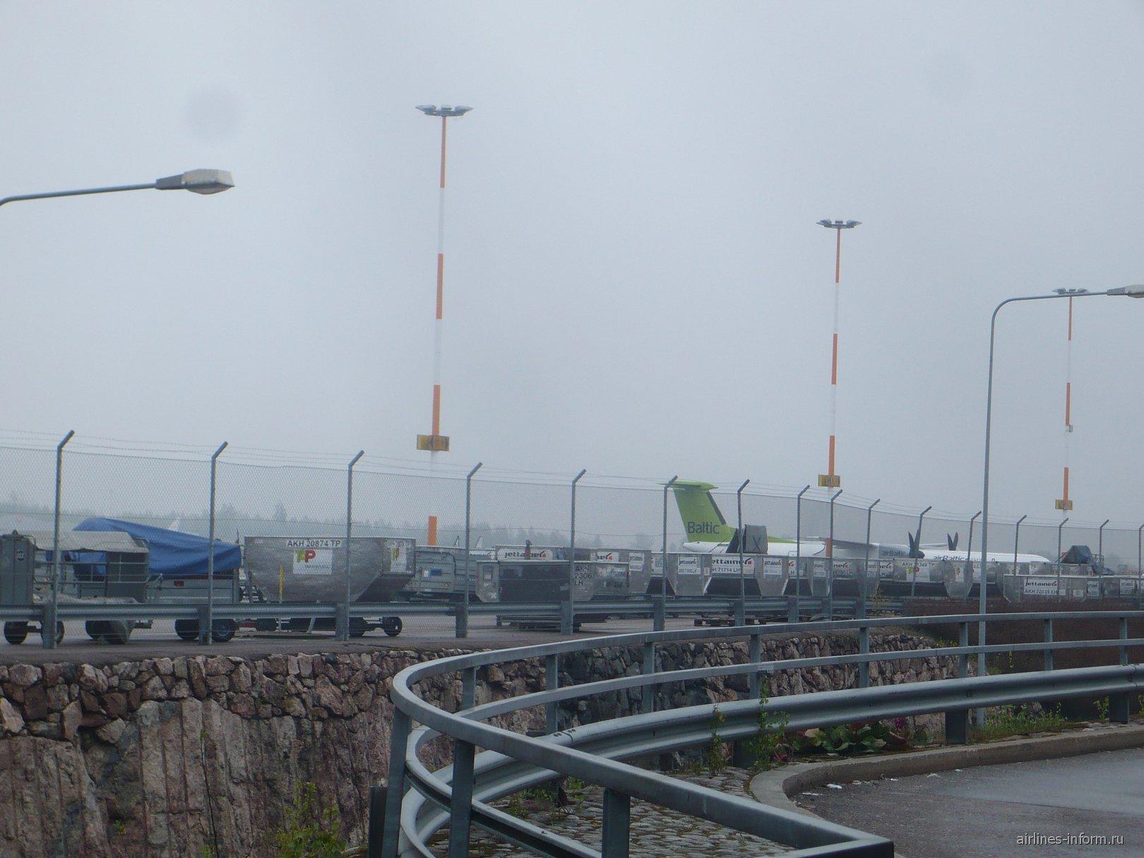 В аэропорту Хельсинки