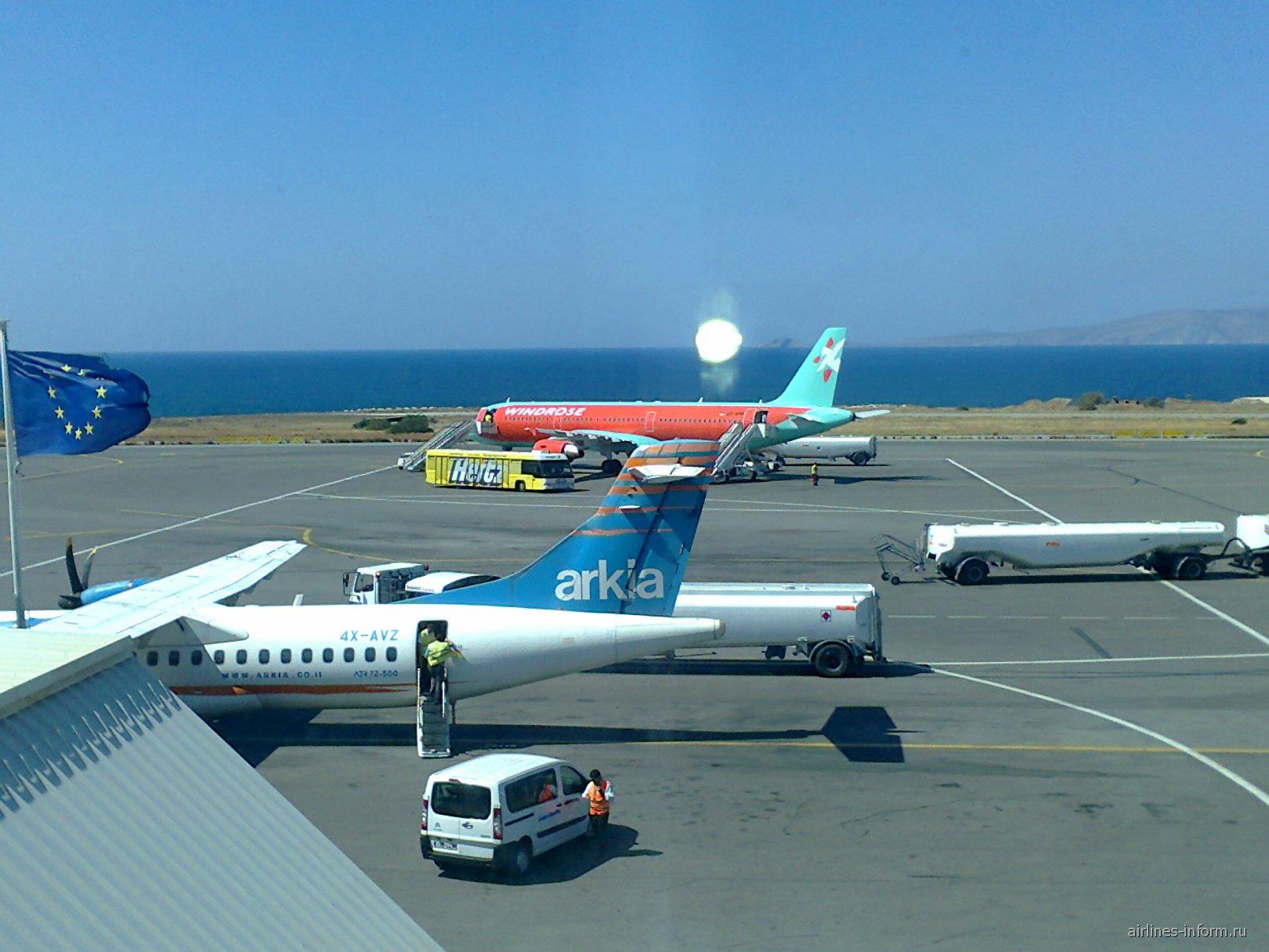 В аэропорту Ираклион