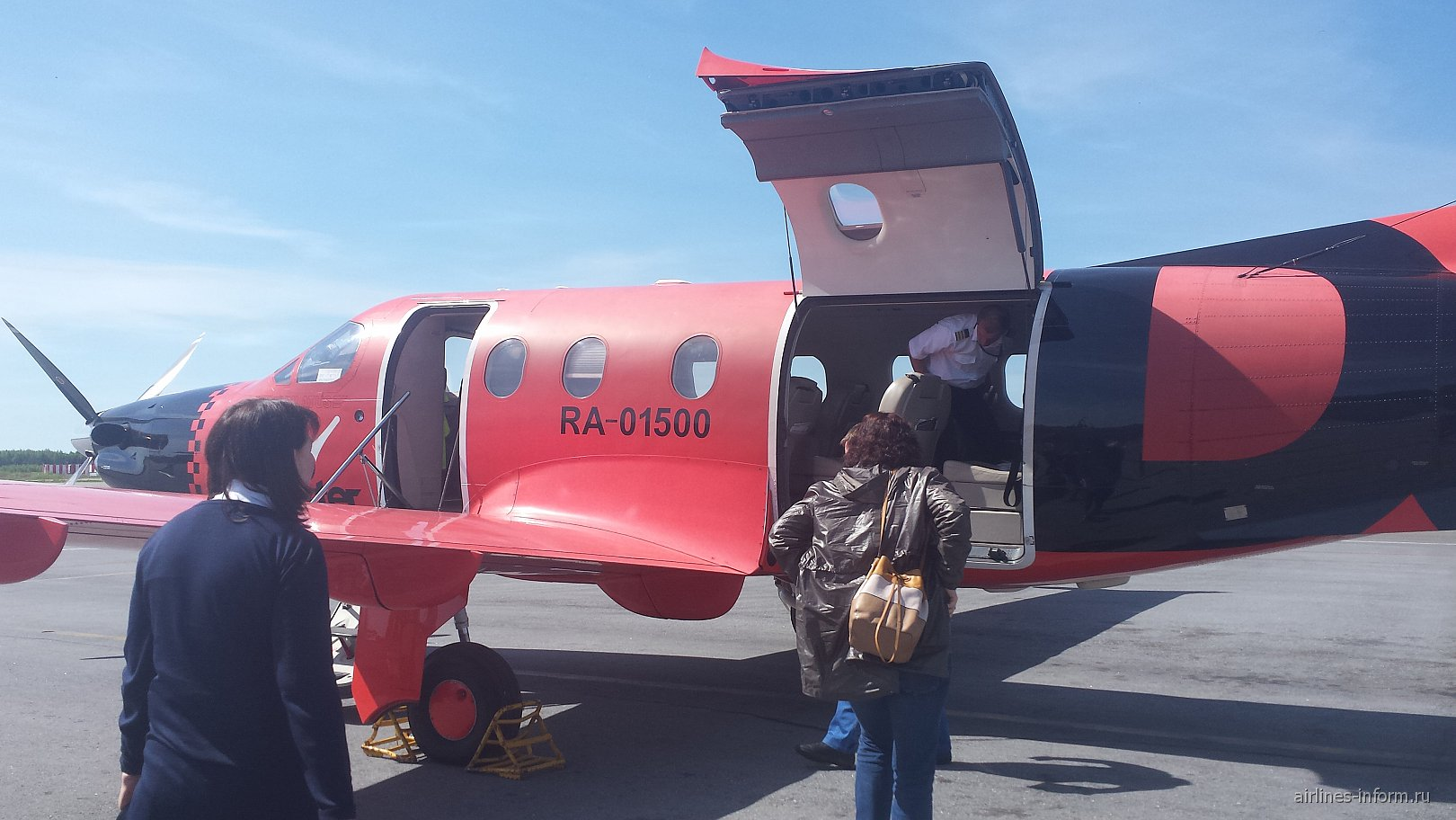 Самолет Pilatus PC-12 авиакомпании Dexter