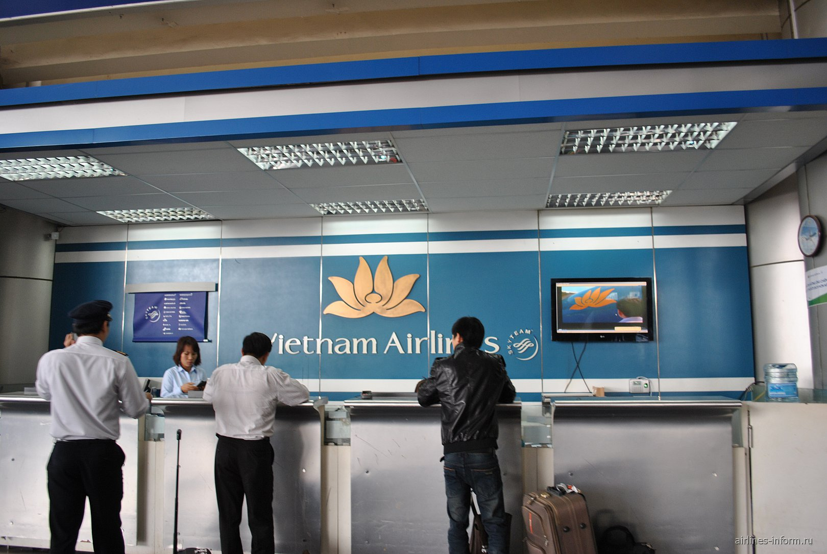Представительство Вьетнамских авиалиний в аэропорту Ханоя