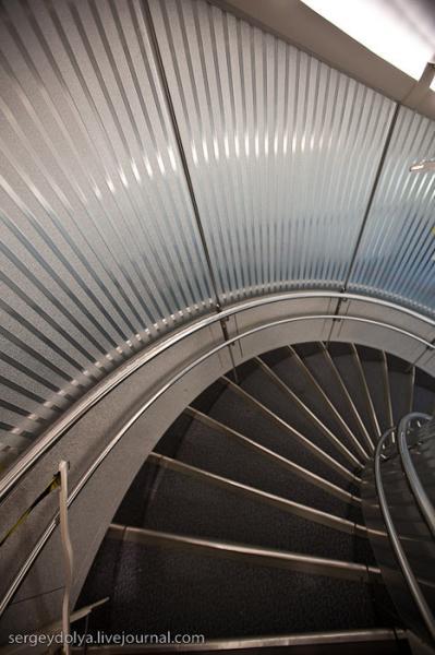 Хвостовая лестница в Airbus A380 Emirates