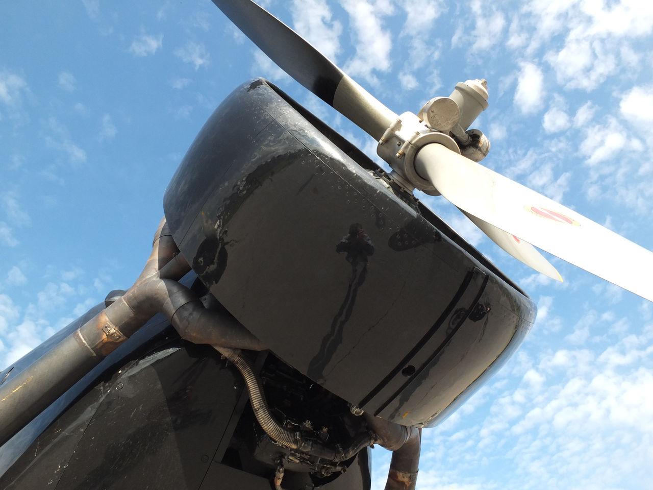 Двигатель самолета Юнкерс Ю-52 авиакомпании Люфтганза