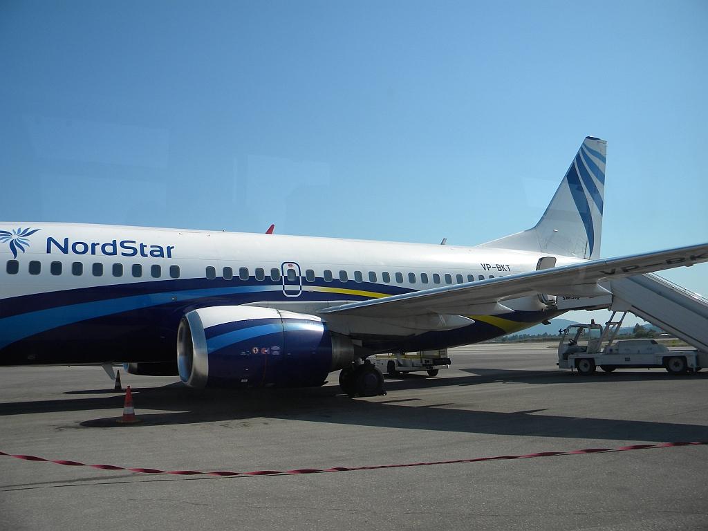 Отпуск на Греческих островах, Закинф - Домодедово на Боинг-737-300 НордСтар