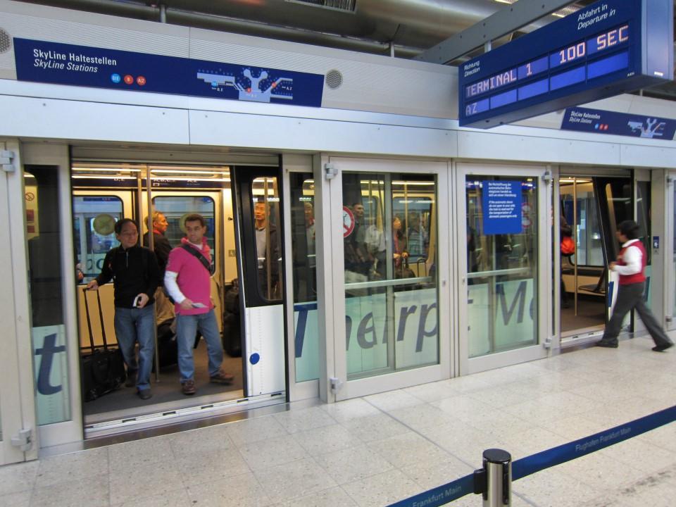 В аэропорту Франкфурт-на-Майне