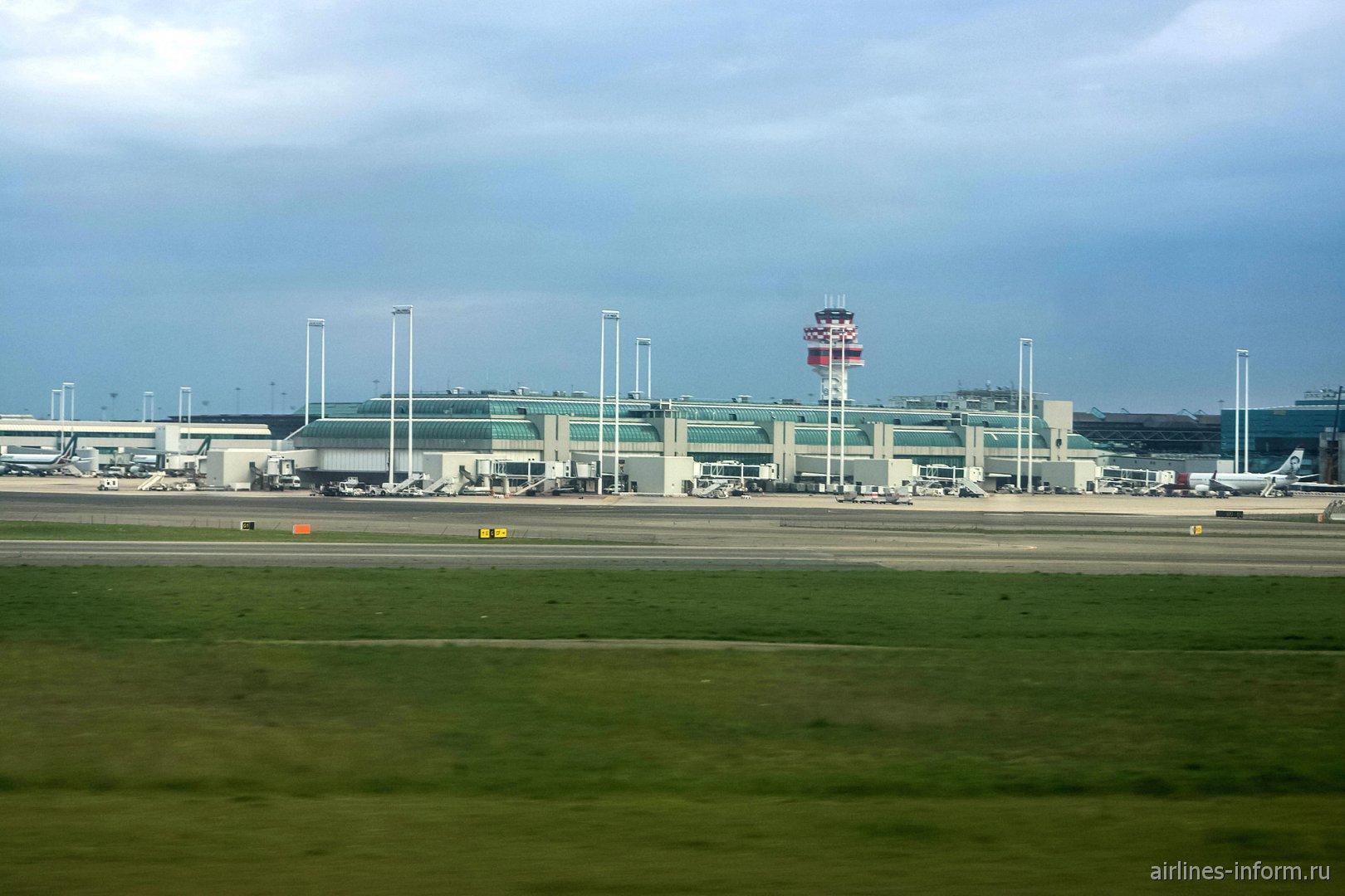 Пирс D терминала 1 аэропорта Рим Фьюмичино