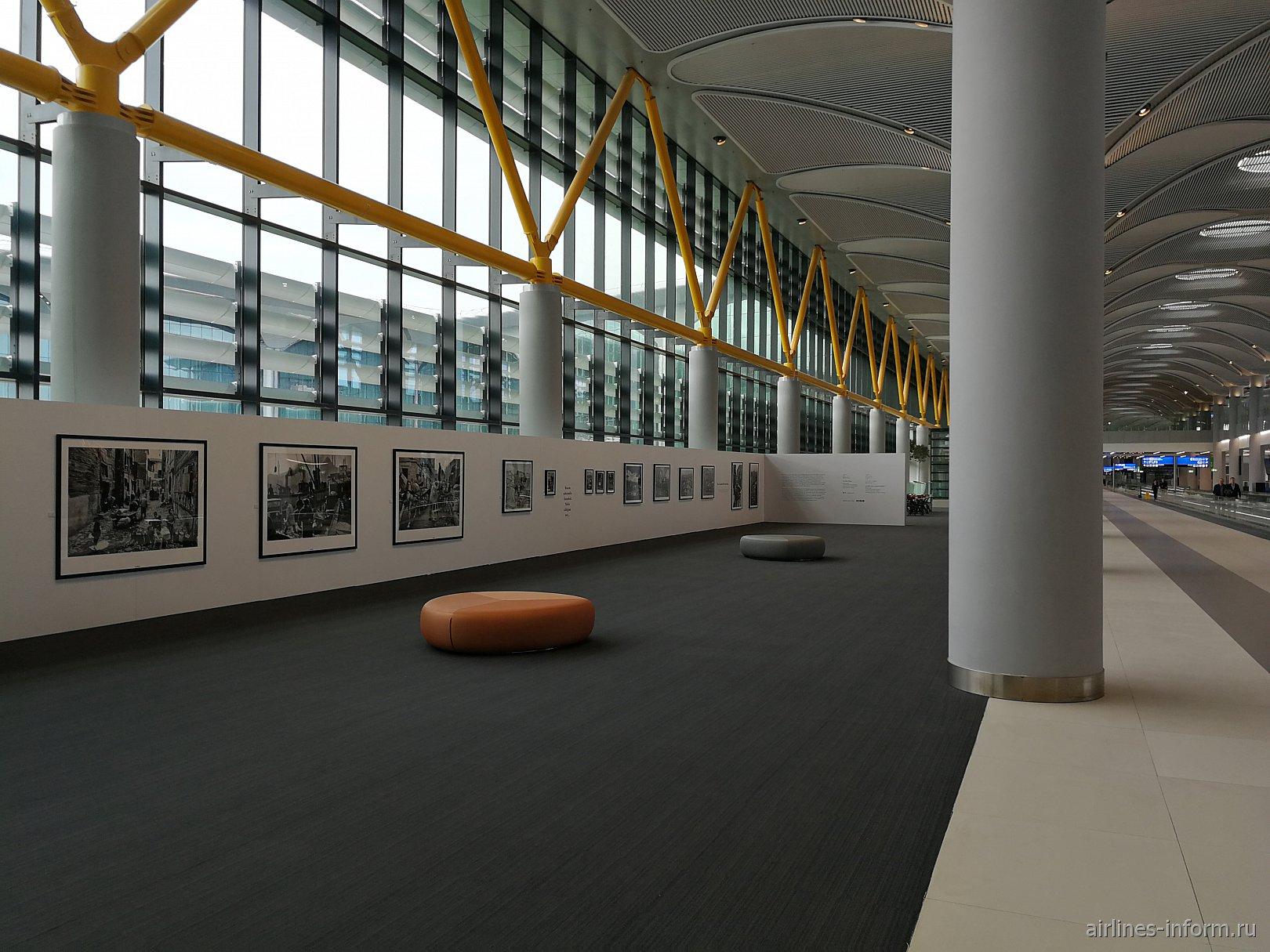 В чистой зоне нового аэропорта Стамбула
