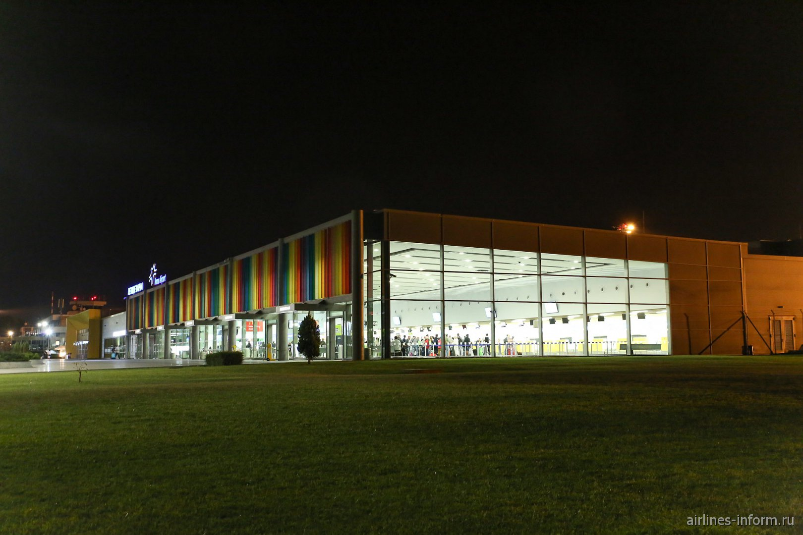 Пассажирский терминал аэропорта Варна