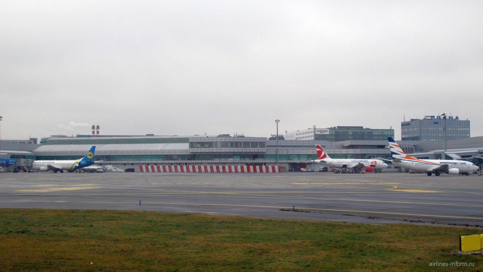 Пассажирский терминал аэропорта Прага Вацлав Гавел