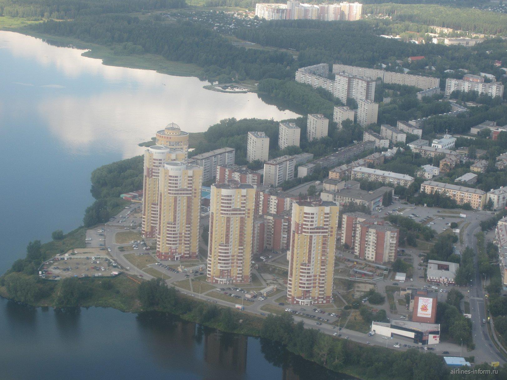 Район Химмаш в Екатеринбурге