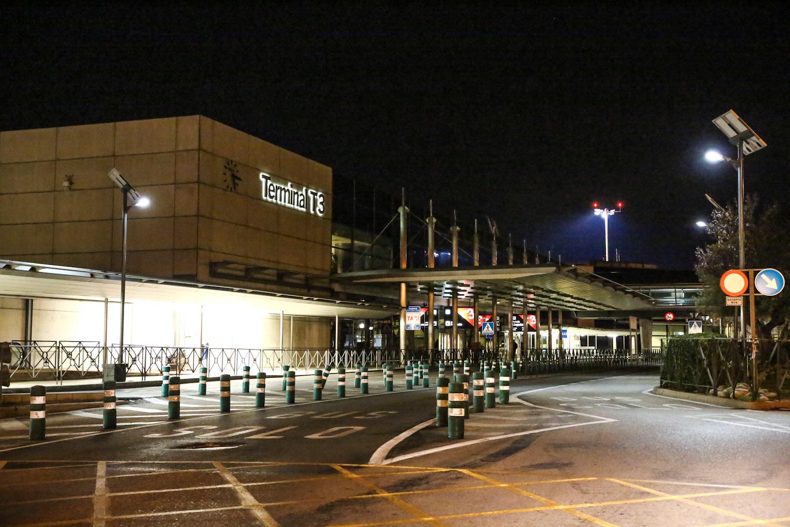 Терминал Т3 аэропорта Мадрид Барахас