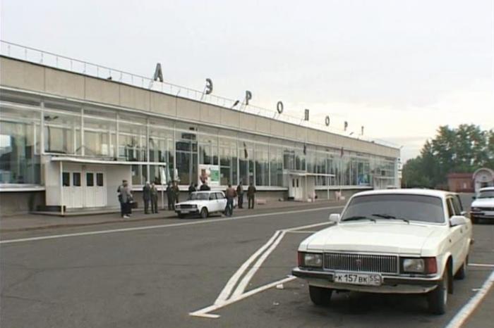 Аэропорт Омск до реконструкции