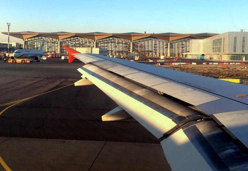 Новый терминал аэропорта Пулково
