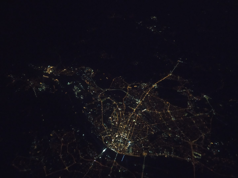 Ночная Рига