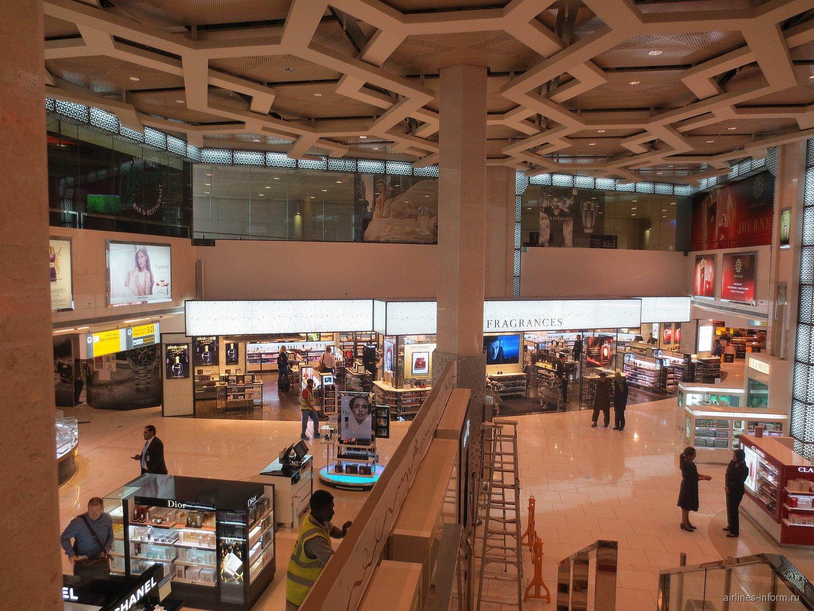Магазины в аэропорту Абу-Даби