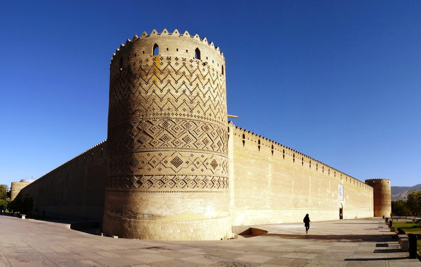 Крепость Арг Карим-Хана в Ширазе.