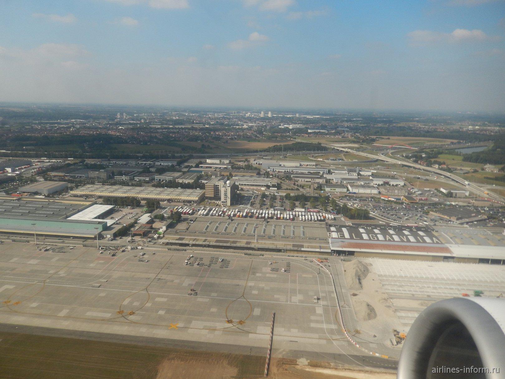 Взлет из аэропорта Брюссель