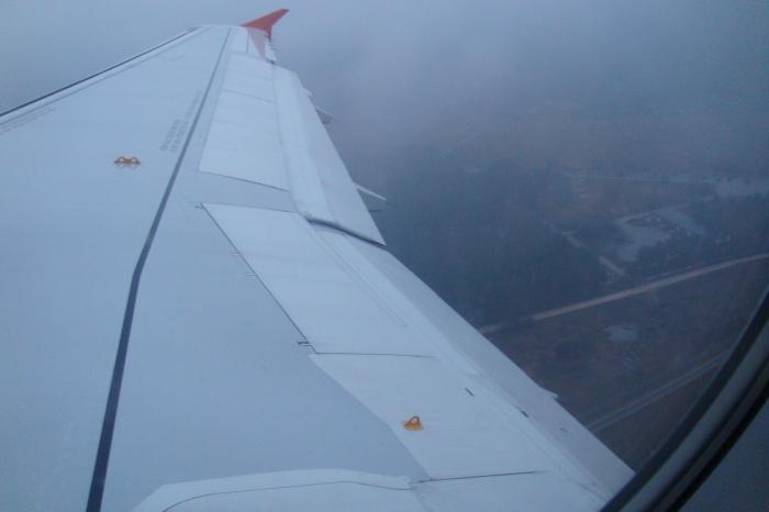Взлет из аэропорта Риги
