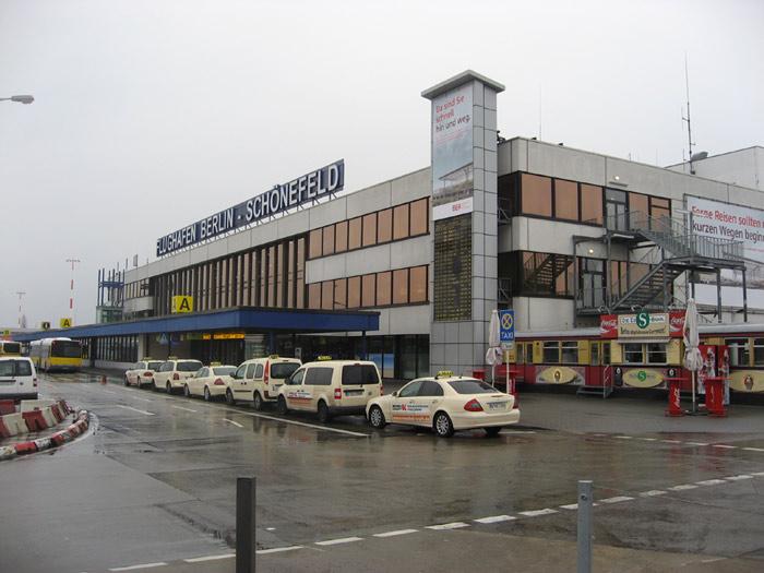 Терминал А аэропорта Берлин Шонефельд