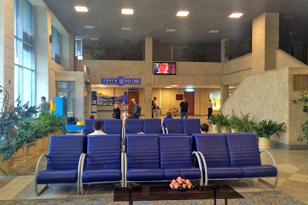 В аэровокзале аэропорта Липецк