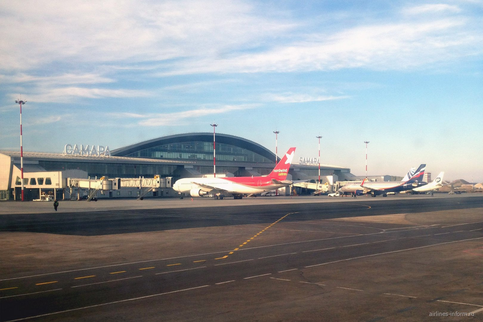 Новый терминал 1 аэропорта Самара Курумоч