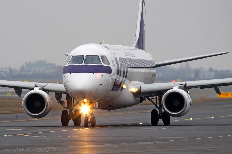 Embraer 175 авиакомпании LOT Polish Airlines